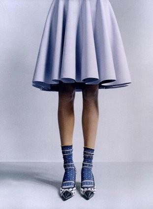 Съёмка в британском Elle, сентябрь 2010. Изображение № 7.