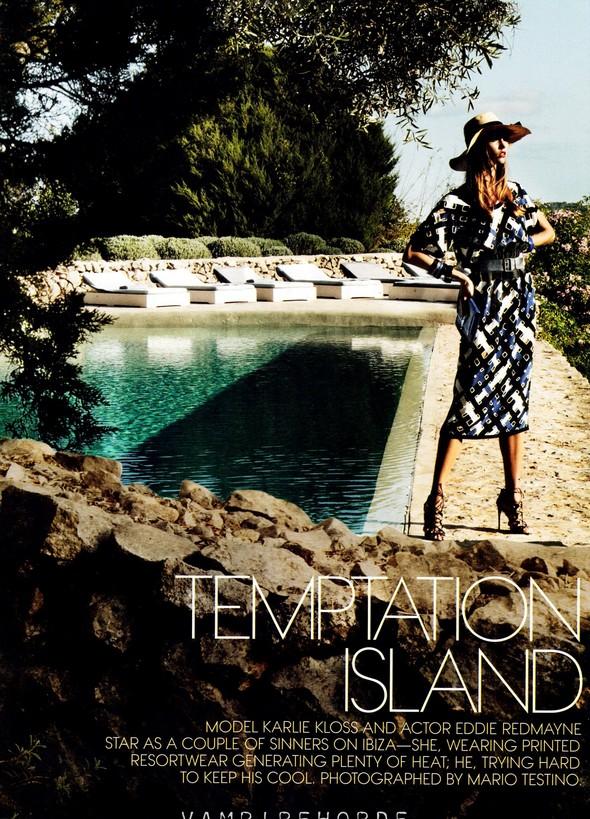 Съёмка: Карли Клосс для Vogue. Изображение № 1.