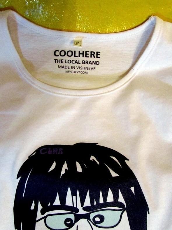 Футболка Coolhere. Изображение № 1.