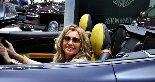 Natalia Freidina at 82nd Geneva International Motor Show. Изображение № 7.