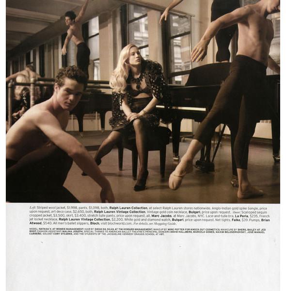 Изображение 25. Dance, dance, dance: 10 съемок, вдохновленных балетом.. Изображение № 19.