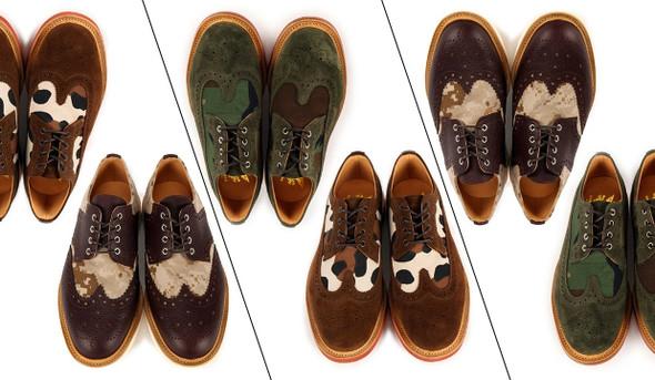 Мужская обувь: броги и ботинки. Изображение № 1.