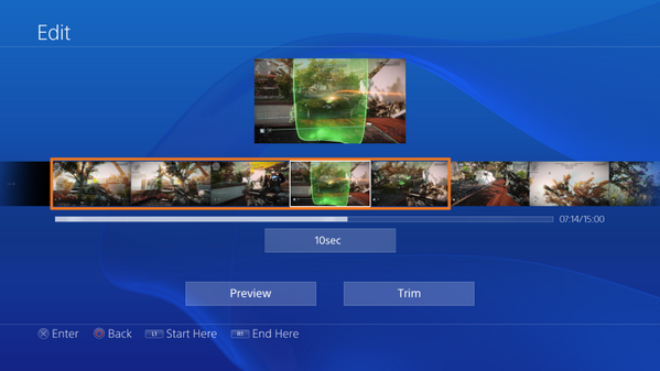 Выложены изображения и видео интерфейса PS4. Изображение № 5.