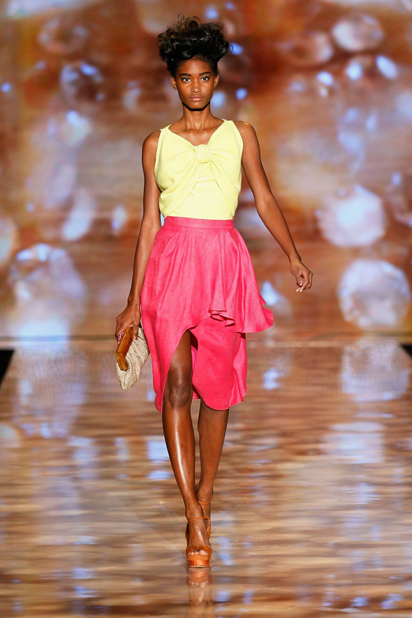 New York Fashion Week: Badgley Mischka Spring 2012. Изображение № 4.