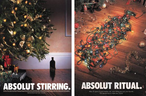 Новогоднее - Рождественский креатив в рекламе. Изображение № 1.