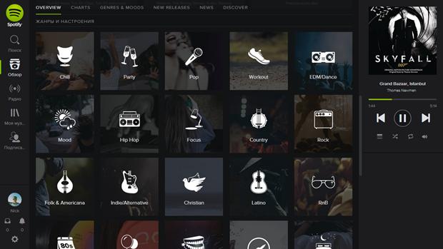Раздел Genres & Moods на Spotify. Изображение № 2.