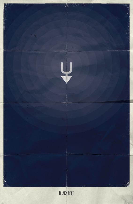 Минималистичные постеры для Marvel Comics. Изображение № 20.