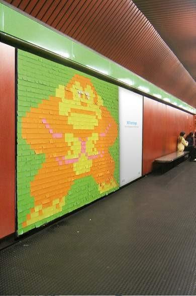 Изображение 21. Креативная реклама Post-it.. Изображение № 20.