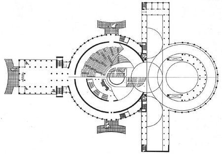 1931 Г. панорамно-планетарный театр вНовосибирске. Изображение № 4.