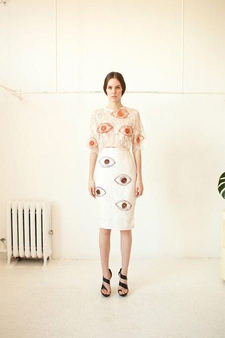 Показаны новые лукбуки Balenciaga, Chanel и Zac Posen. Изображение № 17.