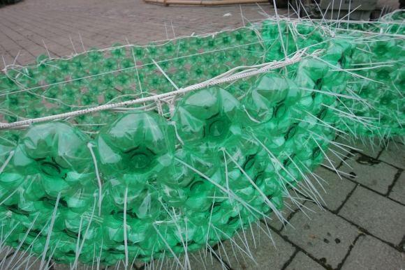 Елка из пластиковых бутылок от Jolanta Smidtiene. Изображение № 4.