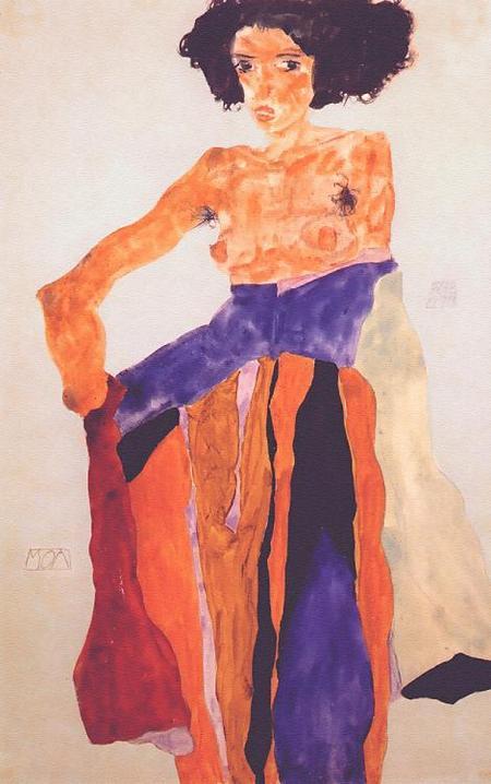 Эгон Шиле. Эротика вискусстве живописи ирисунка. Изображение № 5.