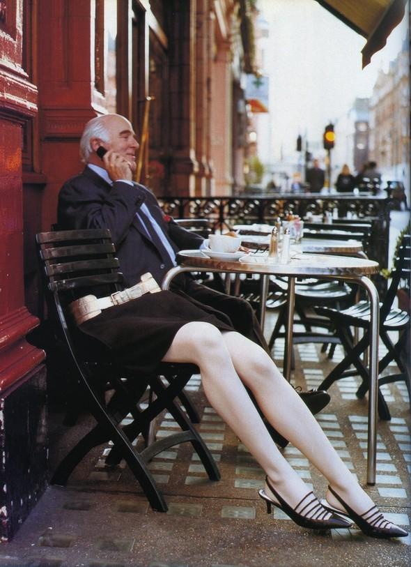 Архивная съёмка: Тим Уокер для итальянского Vogue за 2002 год. Изображение № 8.