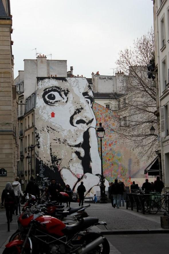 Стрит-арт центра Парижа. Изображение № 2.