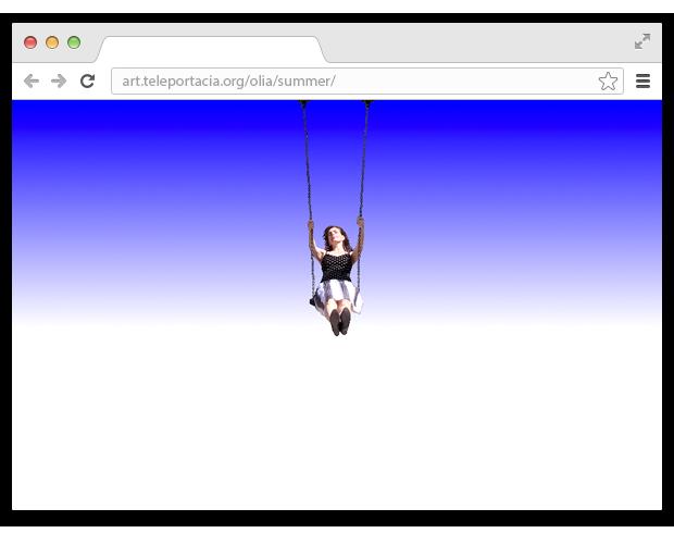 Гиф-модель и художник Оля Лялина о ценности странного интернета 1990-х. Изображение № 10.