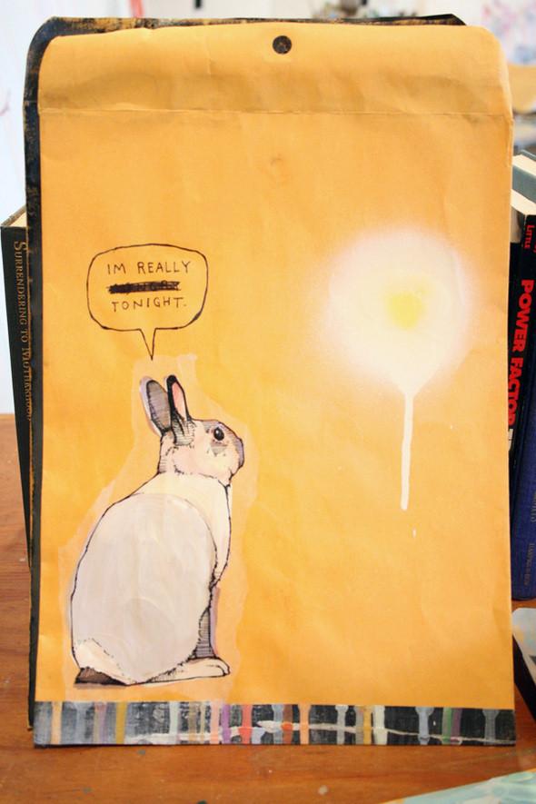 Изображение 23. Рисунки на конвертах Sage Vaughn.. Изображение № 23.