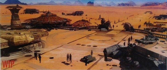 В Сеть выложили 32 концепт-арта для «Звёздных войн VII». Изображение № 20.
