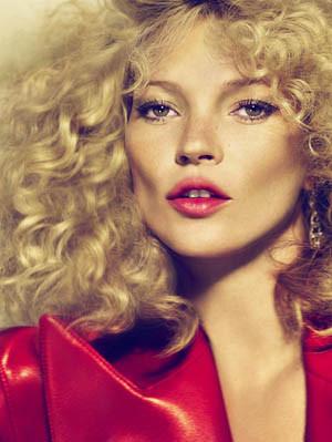 Кейт Мосс насентябрьской обложке русского Vogue. Изображение № 10.