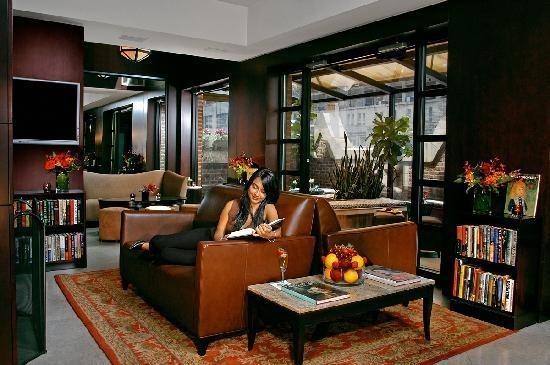 Library Hotel - необычный отель в Нью-Йорке. Изображение №9.