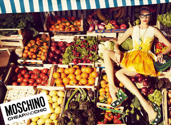 Кампании: Moschino Cheap And Chic и Love Moschino. Изображение № 1.