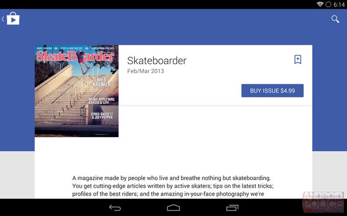 Возможный редизайн интерфейса Google Play для планшетов. Изображение № 12.