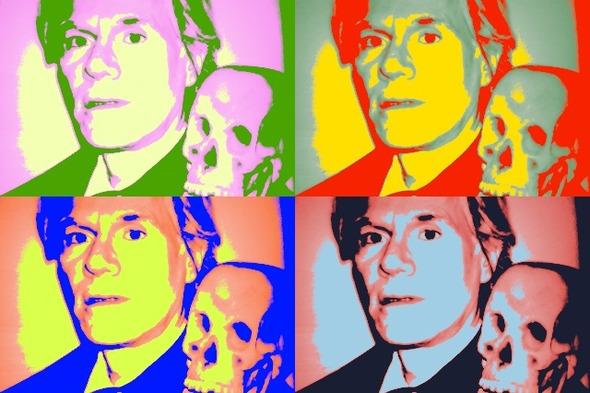 10 портретов Уорхола на веб-камеру . Изображение № 9.