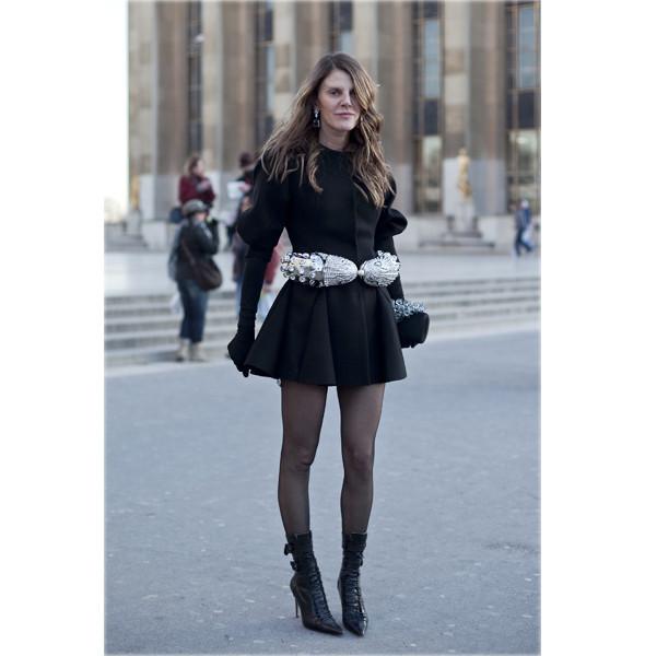 Луки с Недели моды в Париже. Изображение № 72.