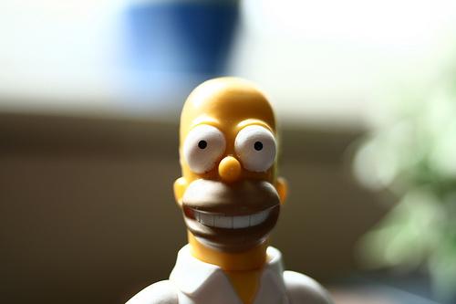 Пара дней изжизни Гомера Симпсона. Изображение № 39.