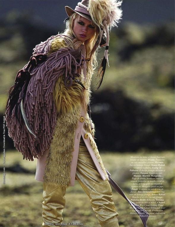 Съёмка: Наташа Поли для французского Vogue. Изображение № 10.