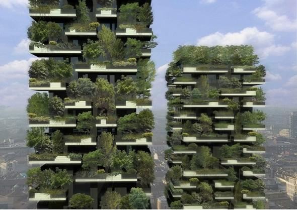 Озеленение Милана: новые методы. Изображение №1.