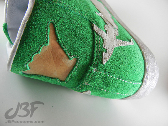 Nike Blazer Mid Jet Life II кастом от JBF. Изображение № 4.