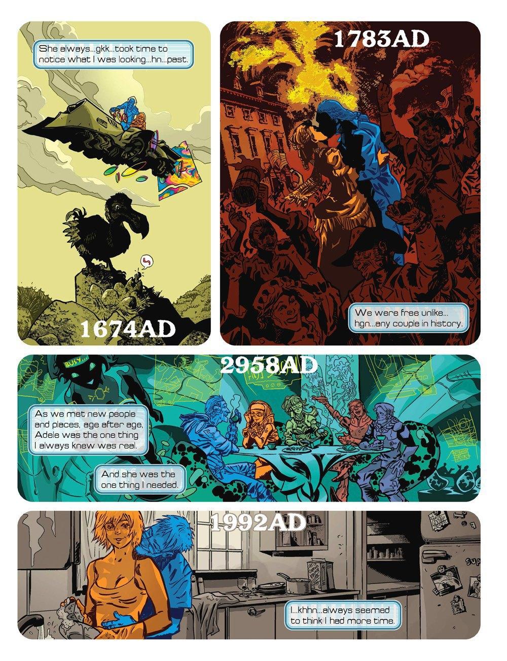 Как стать художником мирового издательства комиксов. Изображение № 6.