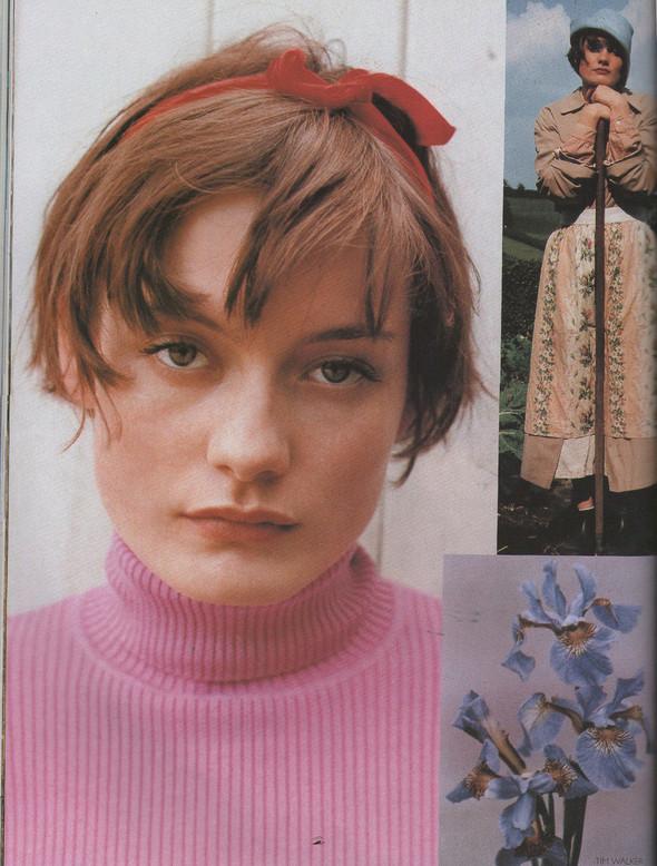 Архивная съёмка: Тим Уокер для Vogue, 1996. Изображение № 7.