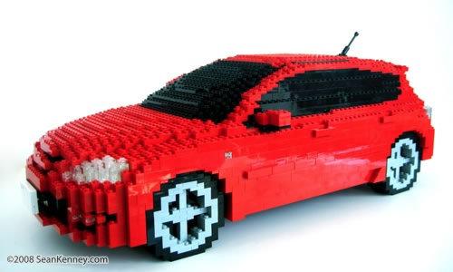 48 креативных LEGO творений. Изображение № 37.