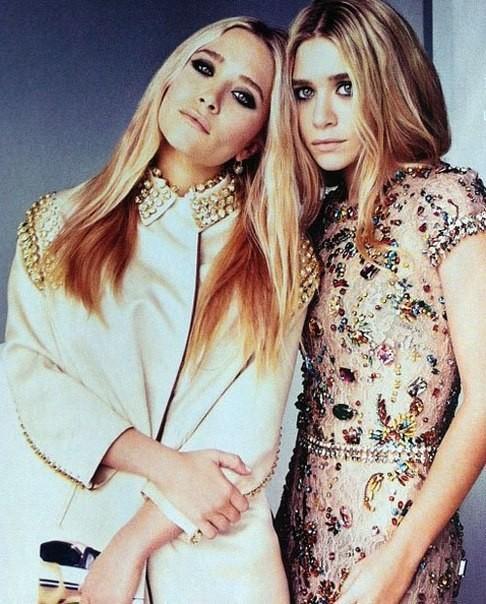 Mary-Kate & Ashley Olsen for UK Elle April 2012. Изображение № 1.