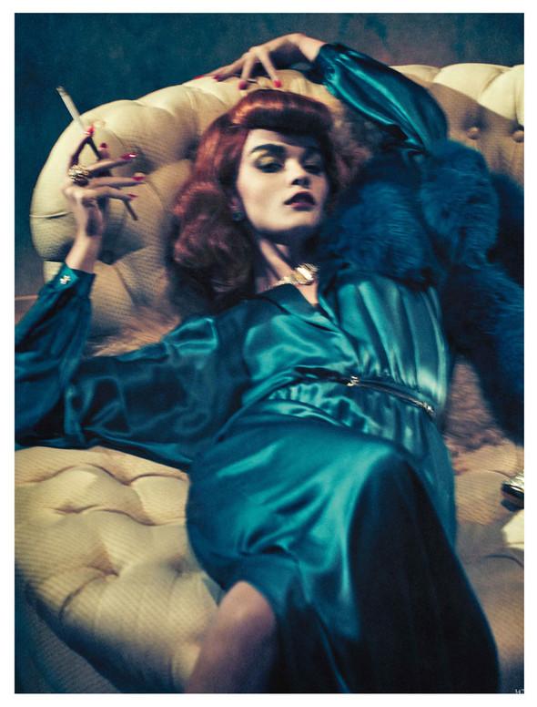 Съёмка: Кристал Ренн для немецкого Vogue. Изображение № 5.