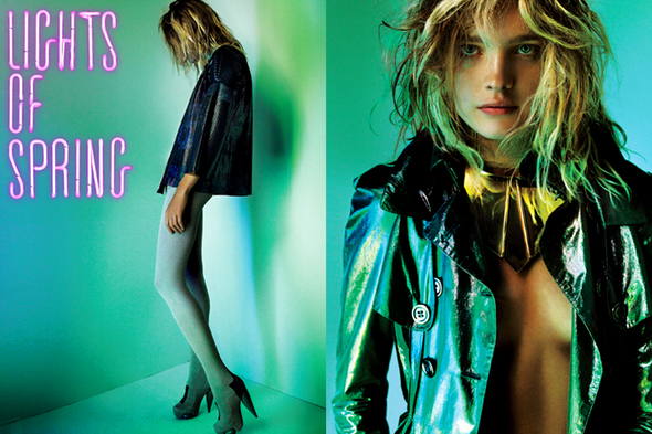 Light of spring, in V magazine. Изображение № 2.