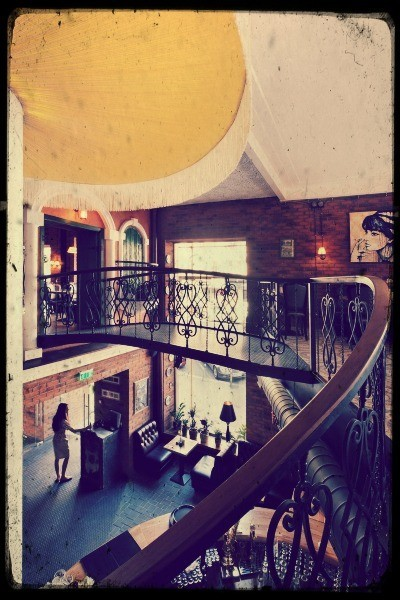 Винтажные лестницы. Изображение № 1.
