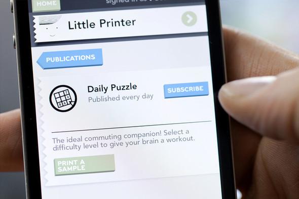 Little Printer - мини принтер от BERG. Изображение № 7.