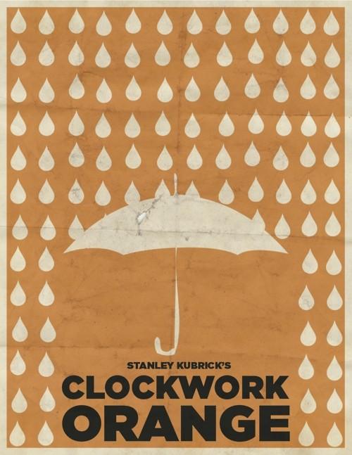 A Clockwork Orange - 20 кинопостеров на тему ультранасилия. Изображение № 7.