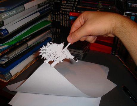 Фотоработы аниме избумаги. Изображение № 9.