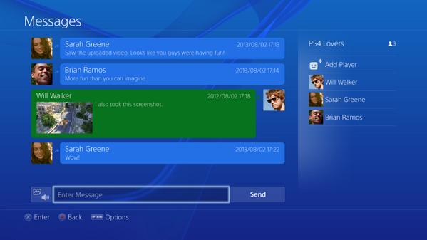 Выложены изображения и видео интерфейса PS4. Изображение № 6.