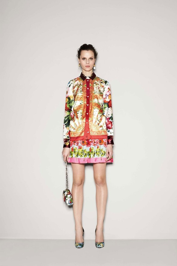 Лукбук: Dolce & Gabbana FW 2011 Women's. Изображение № 36.