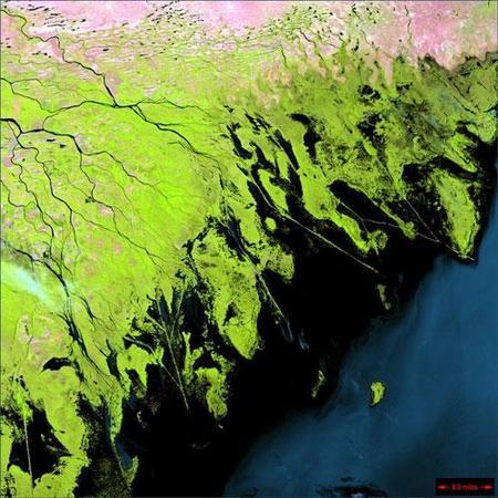 Фотографии Земли, снятые соспутников NASA. Изображение № 14.