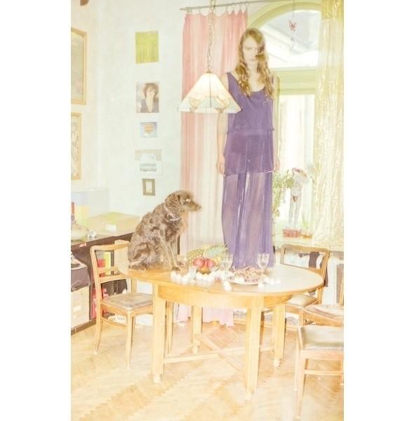 Изображение 7. Одна дома: съемка X'U с Надей Шаповал.. Изображение № 7.