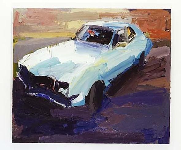 Абстрактные автомобили Бена Куильти. Изображение № 14.