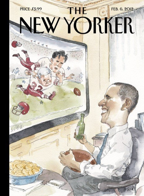 10 иллюстраторов журнала New Yorker. Изображение №67.