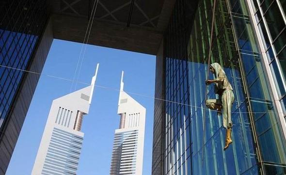 Скульптуры Джерзи Кедзиоры, парящие в воздухе. Изображение № 63.