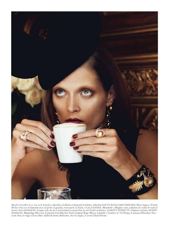 Съемки: Numero, Vogue, W и другие. Изображение №65.