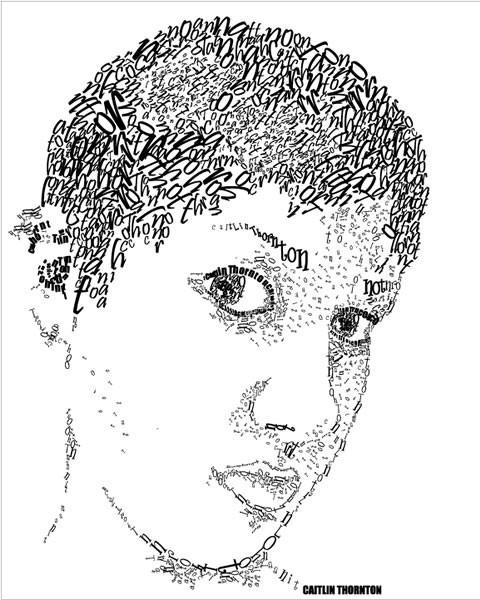Портреты в типографике. Изображение № 30.